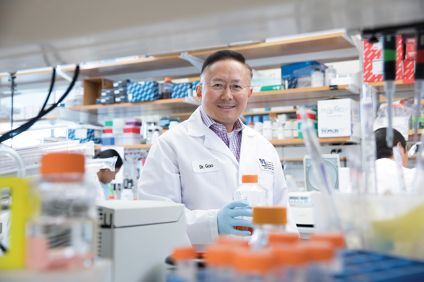 UMass Medical School microbiologist Guangping Gao