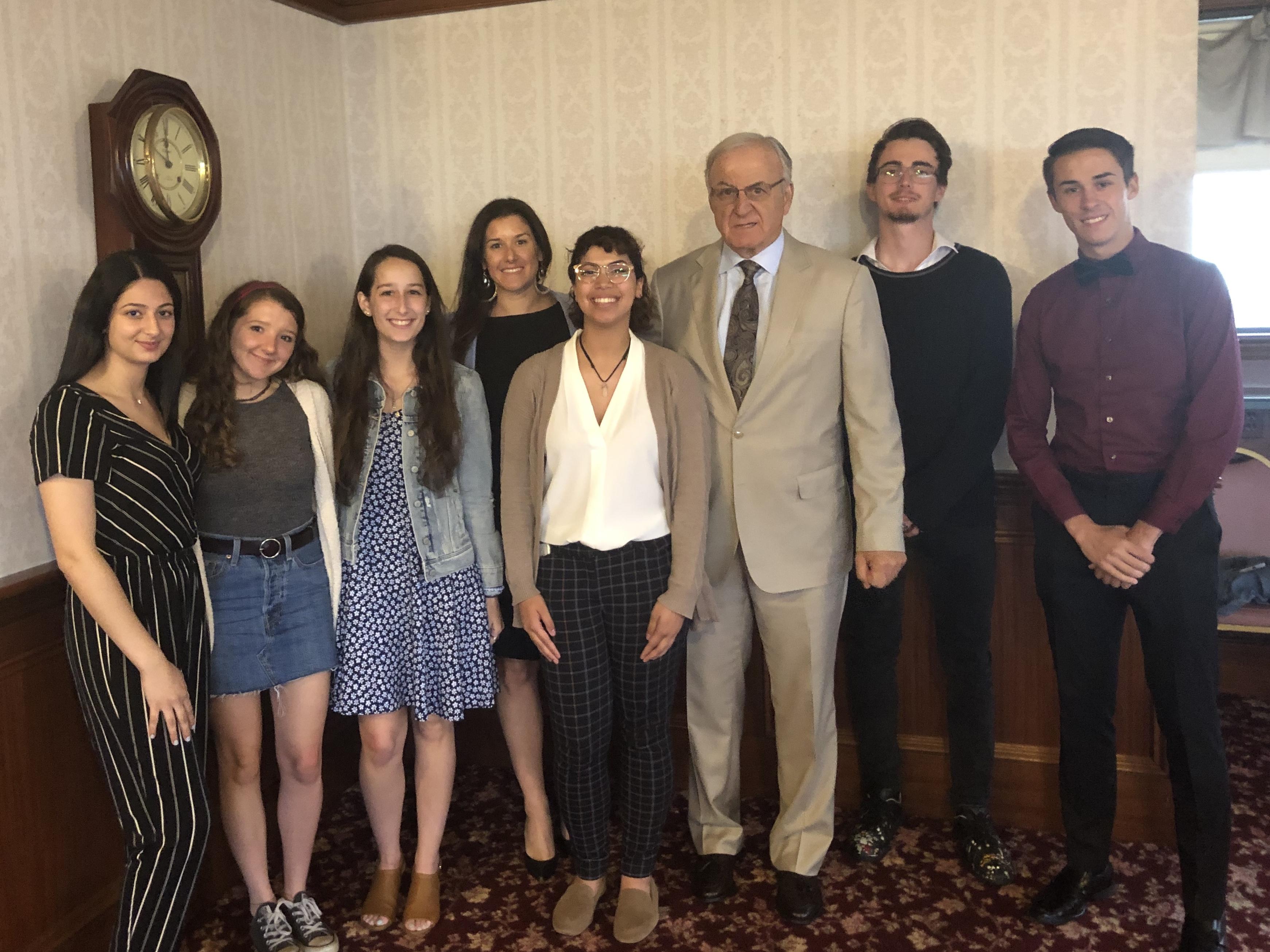 James. J Karam Scholarship recipients