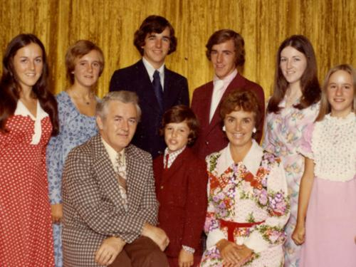 Marty Meehan and family