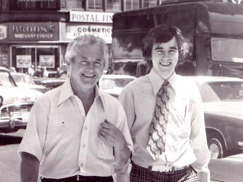 Marty Meehan and his father