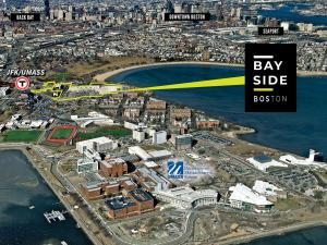 Aerial map of Bayside property