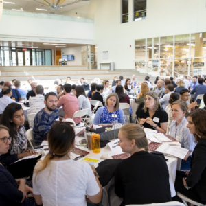 New tenure track and non-tenure track faculty from across the nine colleges and 62 departments attended the orientation.