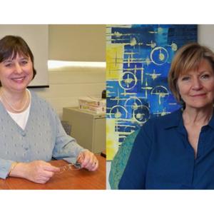 Marsha Ellison, PhD, and Maryann Davis, PhD