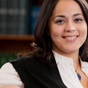 Lorena Estrada-Martinez, an assistant professor of environment and public health in the School for the Environment