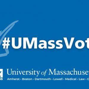 #UMassVotes graphic