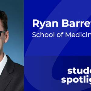 Student spotlight: Ryan Barrette