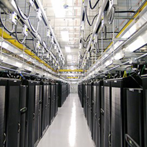 Researchers in the Department of Mathematical Sciences are developing numerical simulations of large-scale interactions suitable for use in high-performance computers such as those at the Massachusetts Green High Performance Computing Center in Holyoke, shown here.