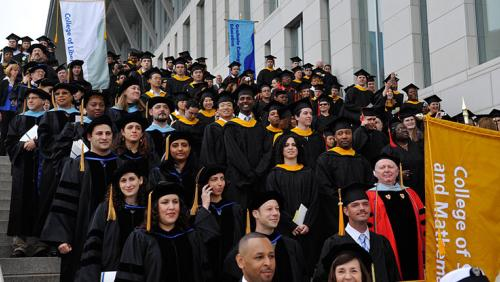 UMass Boston graduates