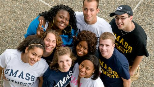 Students at UMass Dartmouth