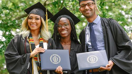 UMass Boston 2018 graduates